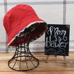 Burberry Nova Check Trim Bucket Hat